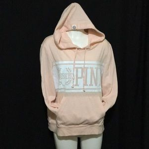 Victoria's Secret Love Pink hooded sweatshirt